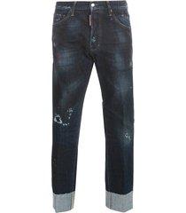 cool jeans w / lapel