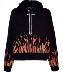tiger flames hoodie