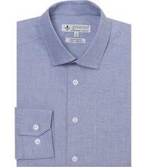 camisa dudalina manga longa ml fil a fil masculina (vermelho medio, 45)