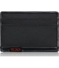 tumi alpha slim card case in black at nordstrom