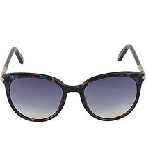 55mm oval sunglasses