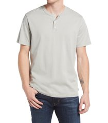 men's ag bryce henley t-shirt, size x-large - grey