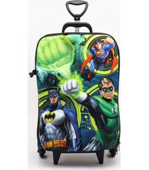 mochila diplomata infantil lanterna verde - único