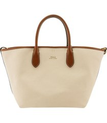 ralph lauren canvas medium bellport tote