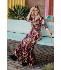 daily glamour jurk multicolor 3031