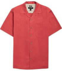 pronto uomo coral camp shirt
