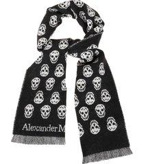 alexander mcqueen scarf reversible