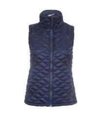 colete feminino thermoball vest - azul