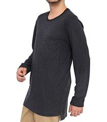 camiseta forum bolso azul-marinho