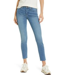 madewell 9-inch skinny jeans, size 32 in krasner wash at nordstrom