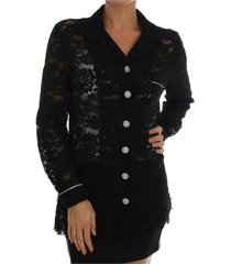 lace shirt with crystal buttons