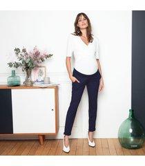 pantaloni premaman fascia alta - clement