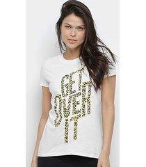 camiseta calvin klein get over it feminina - feminino