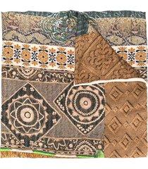 pierre-louis mascia aloesta double-sided scarf - neutrals