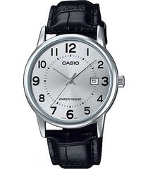 reloj casio dama elegante ltp-v002l-7b color plateado