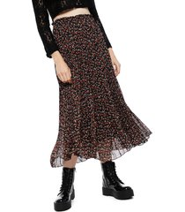 falda eclipse larga negro - calce regular