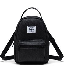 herschel supply co. nova crossbody backpack - black
