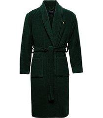 lucas morgonrock badrock grön lyle & scott