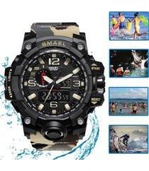 camuflaje reloj deportivo smael militar táctico natación