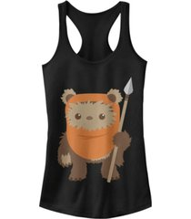 fifth sun star wars wicket ewok chibi kawaii cute ideal racer back tank
