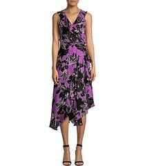 loreena wrap dress