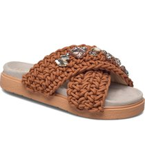 slipper woven st s shoes summer shoes brun inuikii