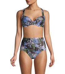 island cheetah bikini bottom