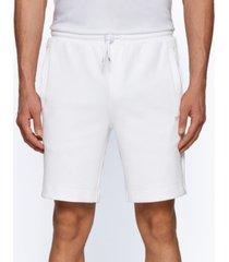 boss men's headlo cotton-blend shorts