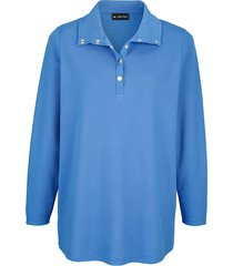 sweatshirt m. collection royal blue