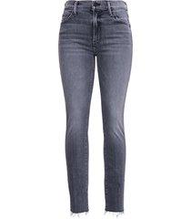 mother grey denim jeans