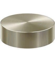 acionamento torneira para banheiro mesa recartilhado mix&match níquel escovado - 00917144 - docol - docol