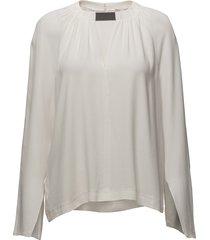 vera blouse lange mouwen crème dagmar
