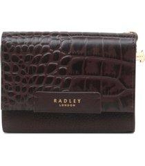 radley london flapover purse wallet