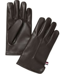 tommy hilfiger men's touchscreen gloves