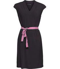 abito con cintura (nero) - bodyflirt