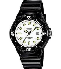 reloj casio lrw_200h_7e1v negro resina