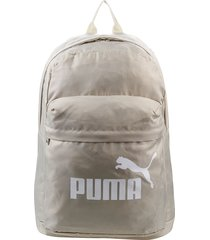 mochila beige puma classic backpack