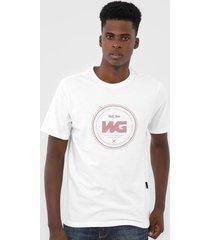 camiseta wg debossing branca - kanui