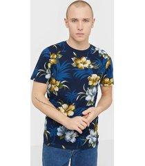 premium by jack & jones jprdale bla. tee ss crew neck pre t-shirts & linnen mörk blå