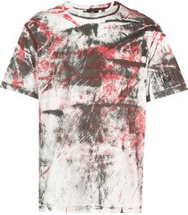 haculla hand painted t-shirt - red