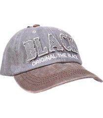 gorra gris vinson black