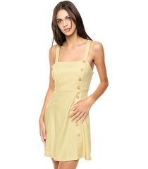 vestido amarillo mochi santorini