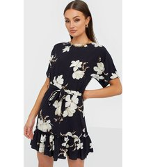ax paris flower knot dress loose fit dresses