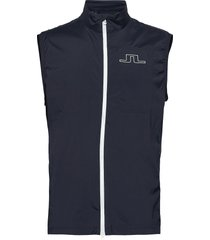 ash light packable golf vest vest blauw j. lindeberg golf