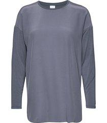 nodo blouse lange mouwen blauw max mara leisure