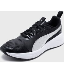 zapatilla urbana nuage run metallic negro puma