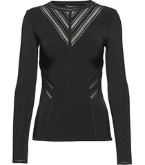 royai sweater top gebreide trui zwart marciano by guess