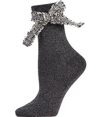 dream bow ankle socks