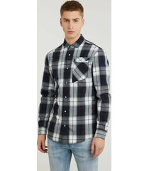 chasin' 6111346005 e60 bleak shirts long sleeve overhemd chasin