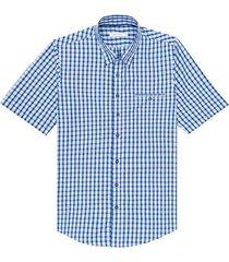 camisa cuadros manga corta para hombre 08390